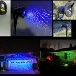 Udendørs laserprojektor